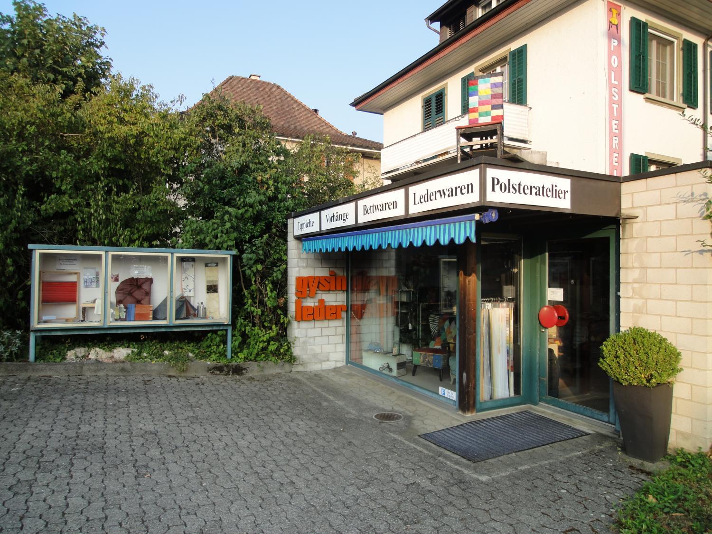 Wohnhandwerk gysin leder solothurn for Innendekorateur solothurn